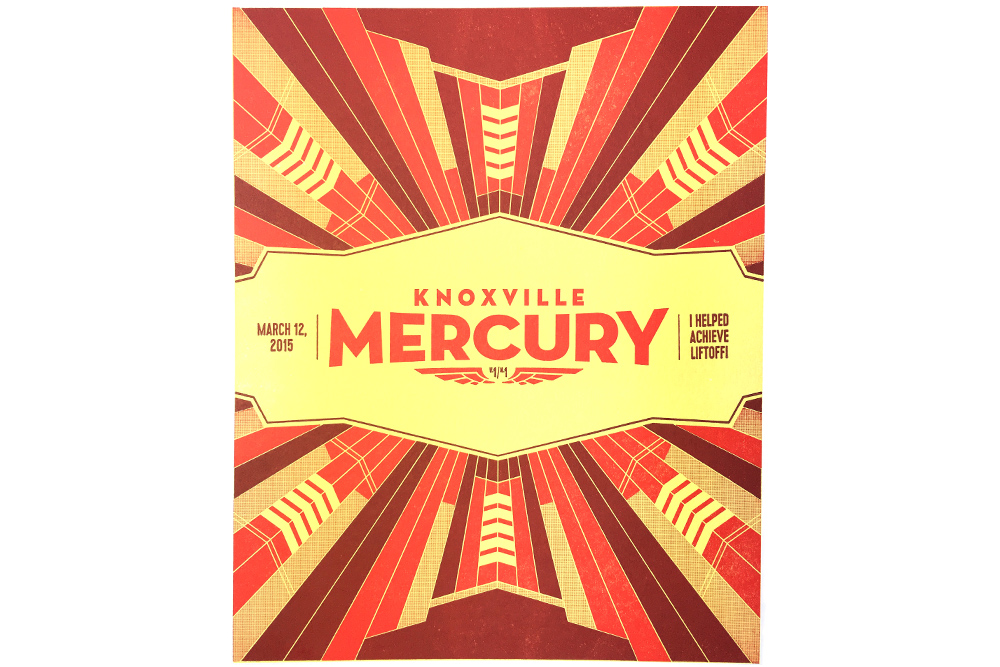 Knoxville Mercury Liftoff Poster
