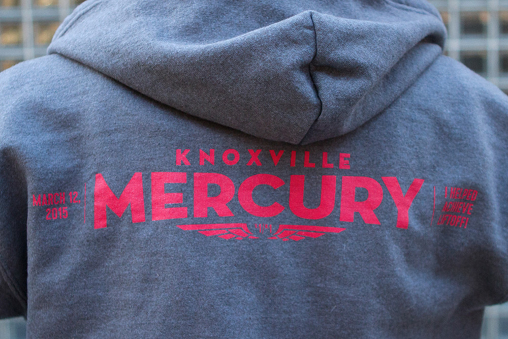 The Official Knoxville Mercury Hoodie