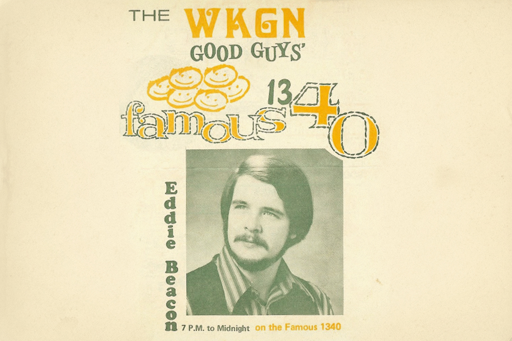 Eddie Beacon at WKGN