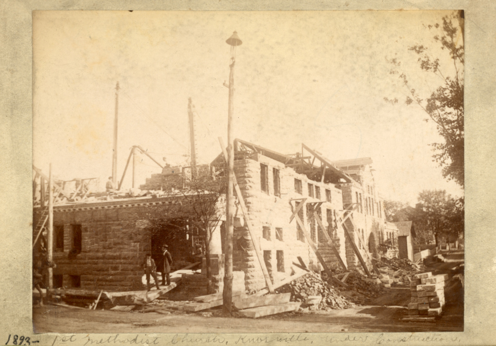 First Methodist Church Construction 1893