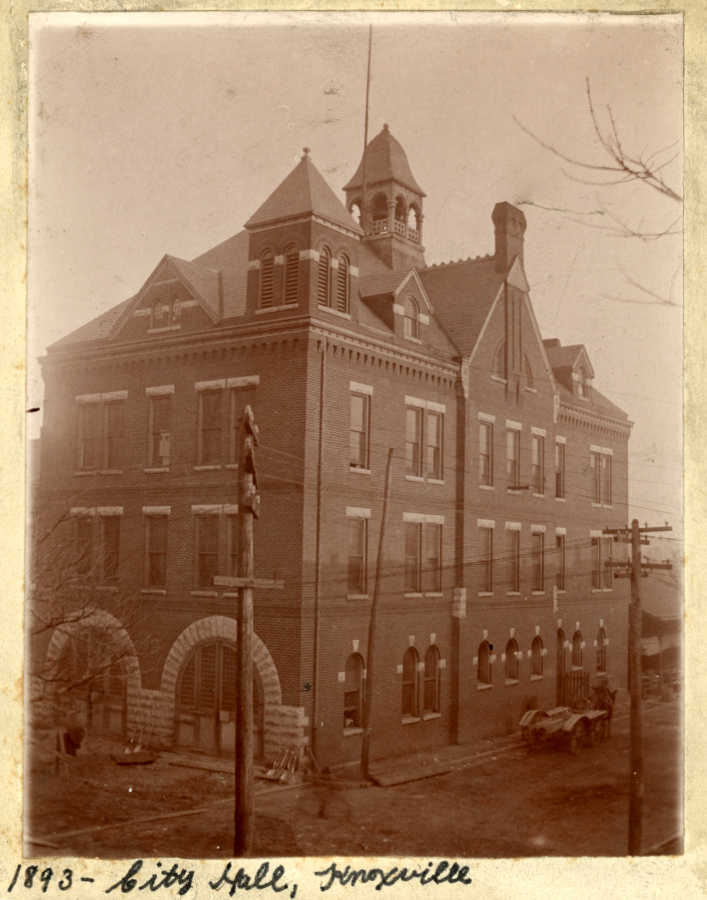 Knoxville City Hall 1893