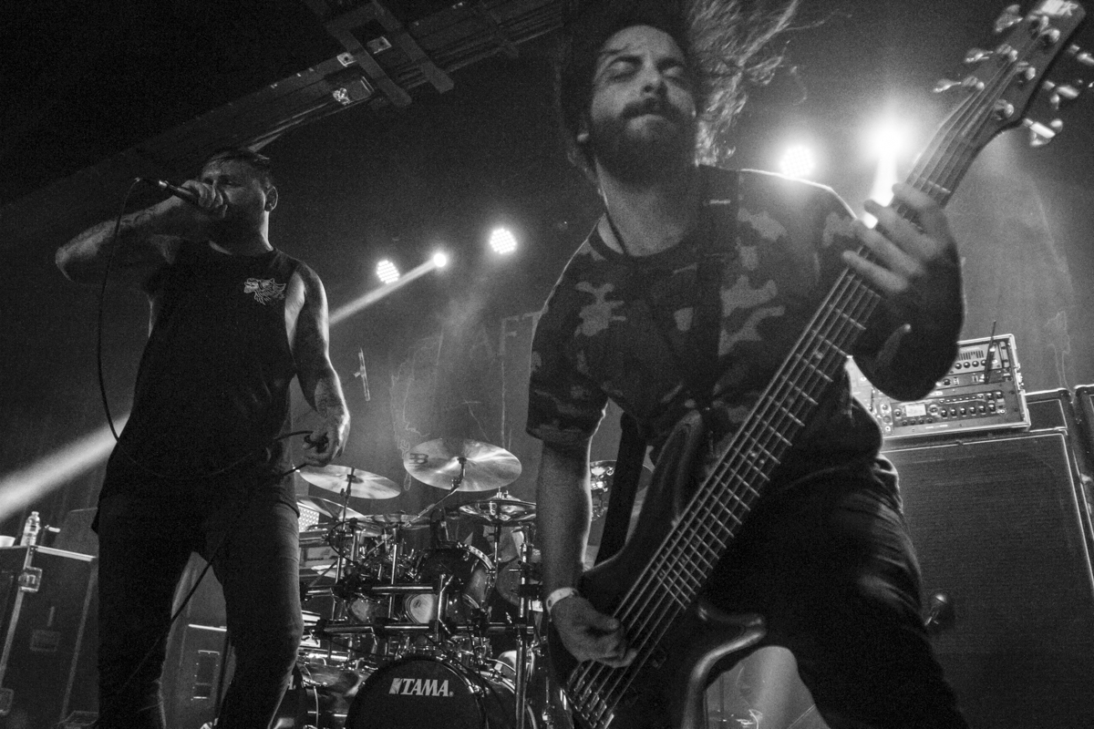 After the Burial plays the 2016 Summer Slaughter Tour at the International.