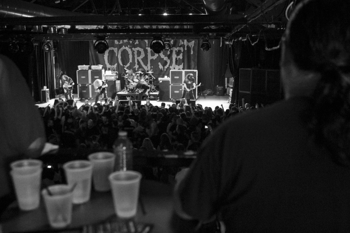Cannibal Corpse headlines the 2016 Summer Slaughter Tour at the International in Knoxville.