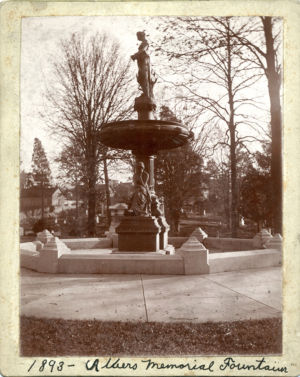 Albers Memorial Fountain 1893 Old Gray Cemetery, Knoxville