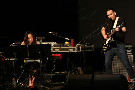 Xiu Xiu performing music from Twin Peaks
