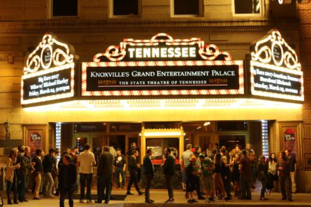 Tennessee Theatre before Wilco