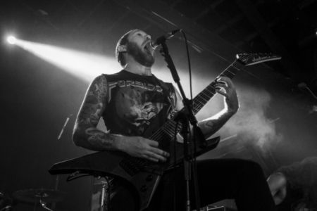 Revocation plays the 2016 Summer Slaughter Tour at the International.