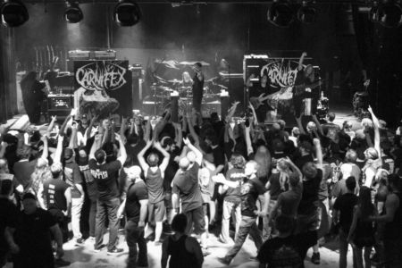 Carnifex plays the 2016 Summer Slaughter Tour at the International.