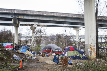 24 Hours Homeless in Knoxville