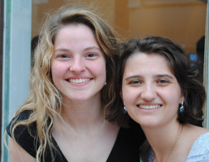 After two years of co-founders Brianna Rader and Jacob Clark running the University of Tennessee Sex Week,  the 2015 edition is being organized by co-chairs Nickie Hackenbrack (left) and Summer Awad, who brought 35 sessions of upbeat sex ed, including Friday's exhibition of Southern Sexuality at 1010 Gallery.