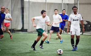 Knoxville, Tennessee Indoor Soccer for Knoxville Mercury photographed by Tyler Oxendine