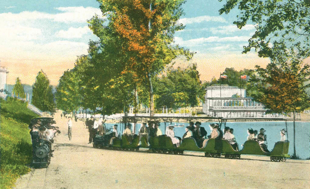 Chilhowee Park, which could be reached by streetcar from Highland Avenue, was probably Knoxville's most popular summer attraction in 1915.