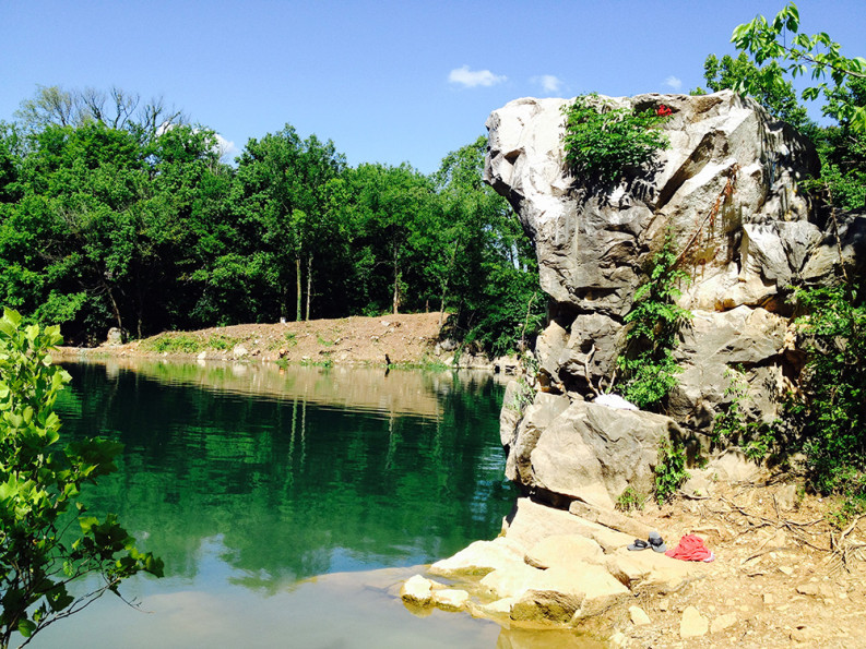 Boating, Swimming, and Beer at Mead's Quarry Lake - The