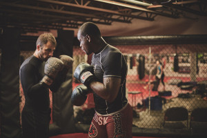 UFC Light Heavyweight Ovince St Preux for Knoxville Mercury Magazine photographed by Tyler Oxendine