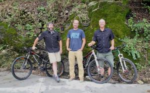 From left: Matthew Kellogg, Brian Hann, Randy Conner