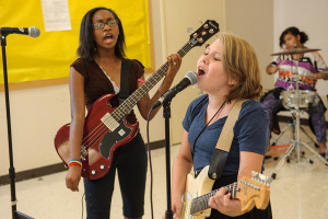 The Treble$ at Knoxville Girls Rock Camp
