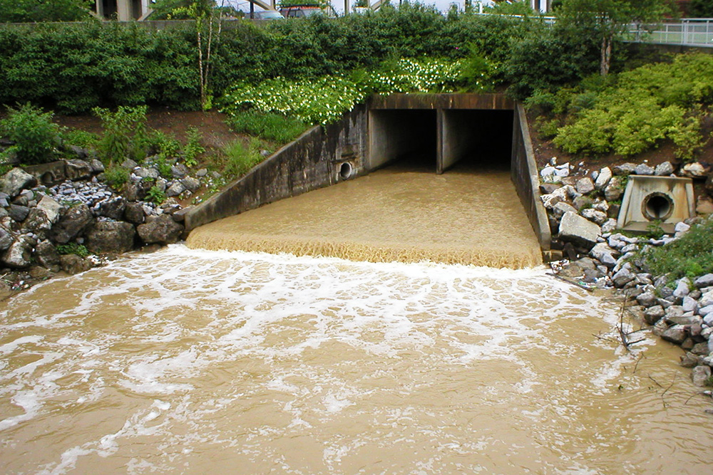 Knoxvile TN stormwater drail