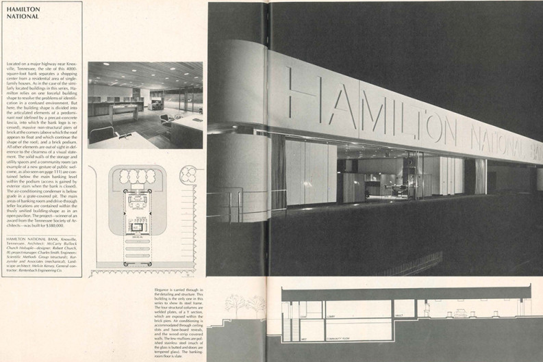 Knoxville Loses Another Fine Mid-Century Modern Building: Hamilton ...
