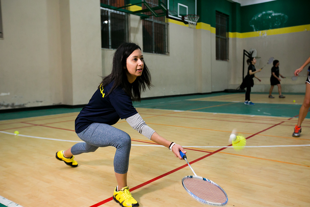 Dima Alardah is using what she learned in the mentoring program to expand her badminton academy and developing sports programs for Syrian refugee women in Jordan.