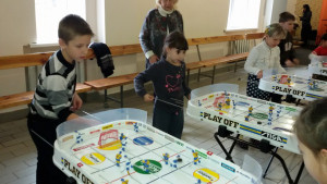 """Ukrainian children forced to flee their country's civil war learn to cope with post-traumatic stress through the """"Break the Ice"""" program founded by Olga Dolinina."""