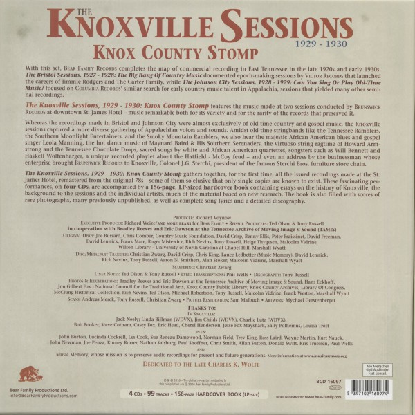 Knoxville Sessions 3
