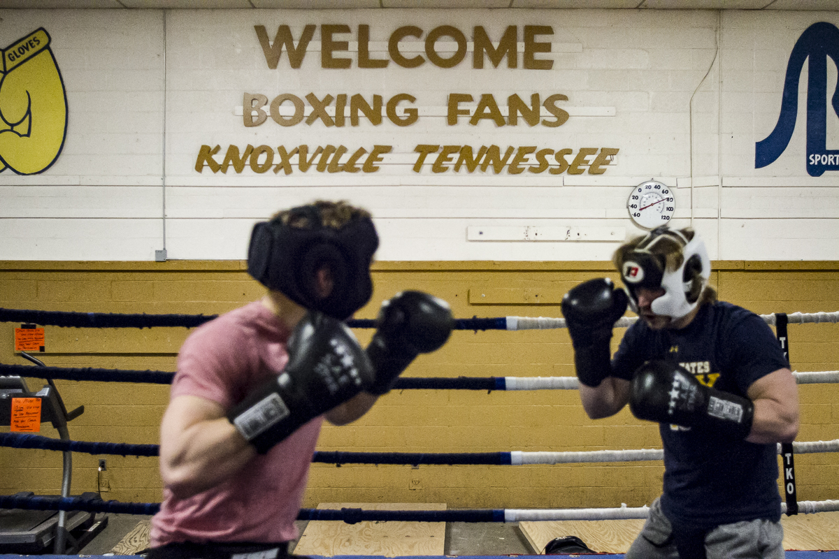 The annual Ace Miller Memorial Fraternity Boxing Tournament, marking its 36th year, serves as a major fundraiser for Golden Gloves Boxing Arena, an East Knoxville gym serving mainly inner city youth.