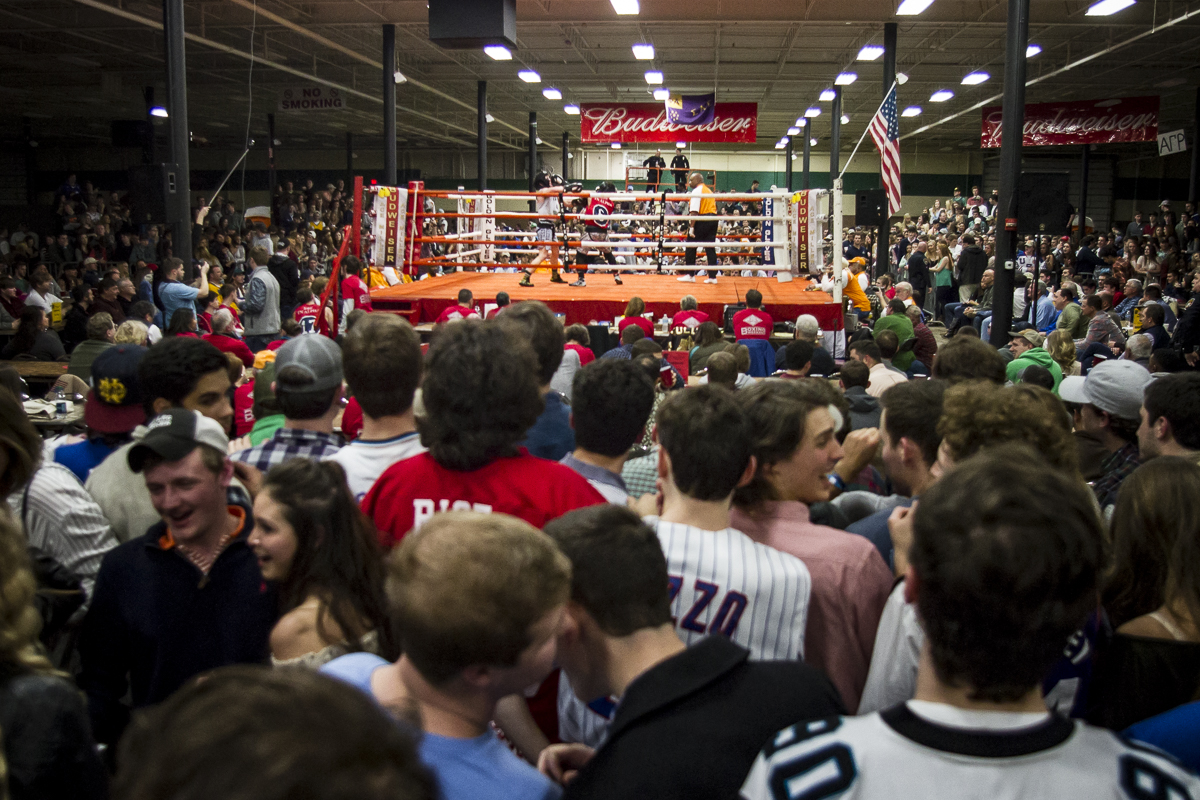 In its 36th year the annual Ace Miller Memorial Fraternity Boxing Tournament broke an attendance recording, drawing upwards of 6,000 people and raising at least $250,000. The event is a major fundraiser for Golden Gloves Boxing Arena, a boxing gym serving mostly inner city youth in East Knoxville.