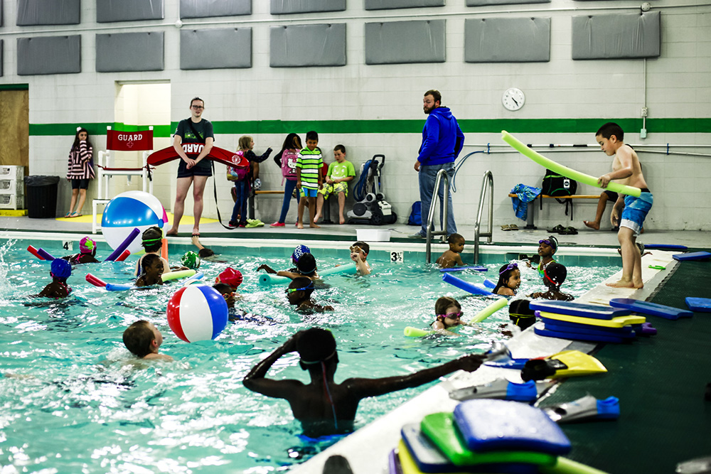 Emerald Youth partnered with the city to run the refurbished pool at the E.V. Davidson Recreation Center, were all kids in Emerald Youth after-school programs learn to swim.