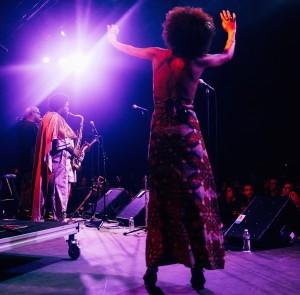 Kamasi Washington performing at Big Ears 2016
