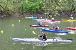 The Powell River Canoe and Kayak Regatta in Claiborne County near Tazewell.