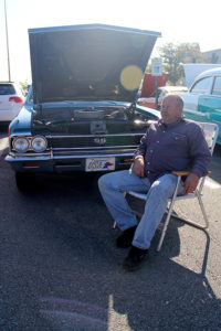 Wayne McMahan and his 1966 Chevrolet Chevelle SS