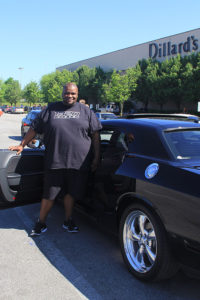 Thomas Foster and his 2010 Dodge Challenger R/T Classic