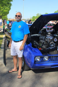 Larry Henegar and his 1971 Ford Ranchero Squire
