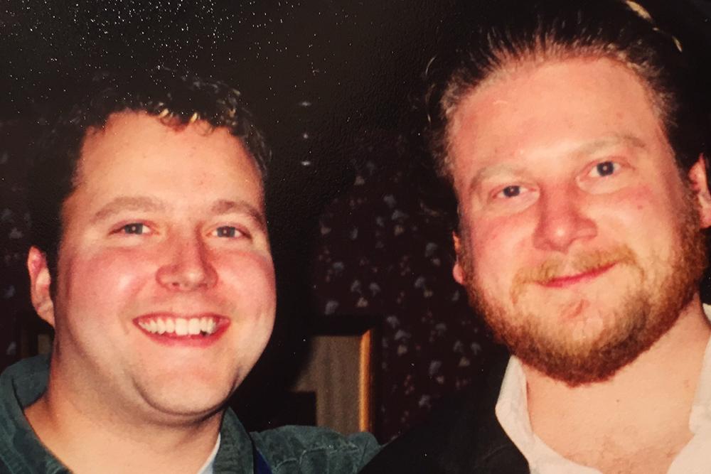 Chad Pelton (left) and Shane Tymon.
