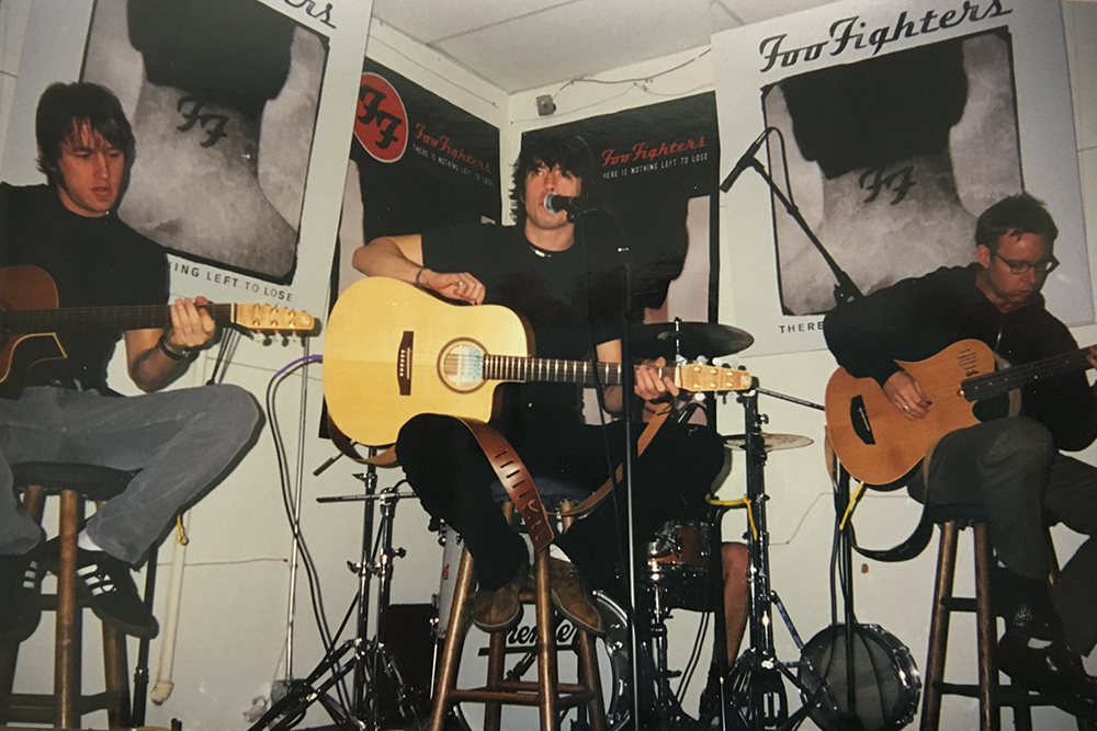 Foo Fighters' in-store show