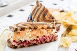 Frussie's Reuben Sandwich