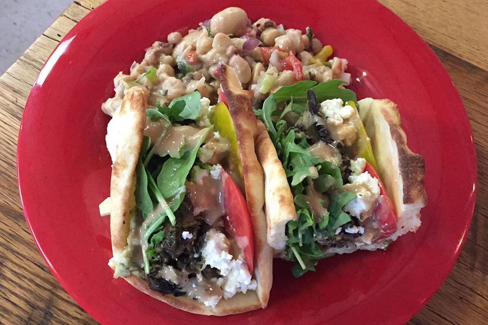 Mushroom Shawarma at Holly's Corner