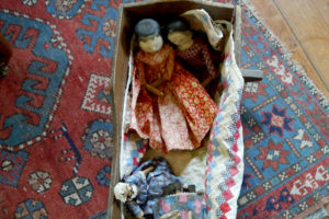 "A granddaughter of Col. Ramsey played with ""colored"" dolls after the Civil War; that would have been potentially controversial for the time."