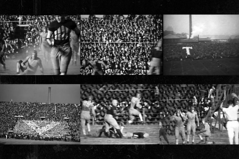 Even before tv local photographers documented the vol football even before tv local photographers documented the vol football team on film junglespirit Image collections