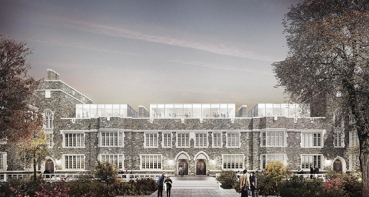 20 Washington Road Renovation (former Frick Chemistry Lab), Princeton University, Kuwabara Payne McKenna Blumberg Architects, Toronto (2016).