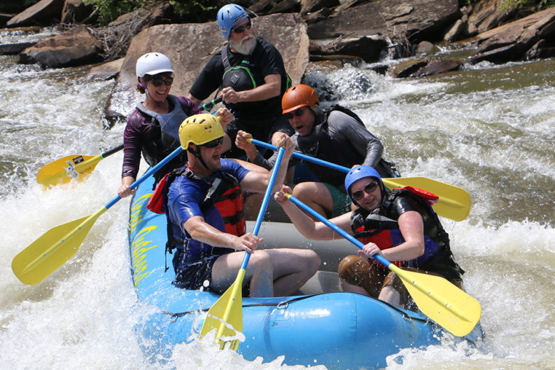 Surviving the Ocoee River's heart-pounding whitewater - The
